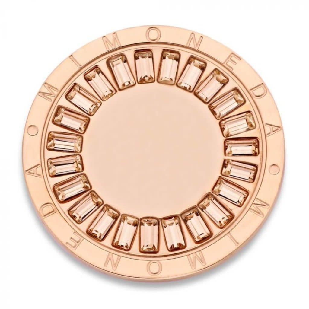 Mi Moneda Mi Moneda munt Sentido Rosé Gold Plated M