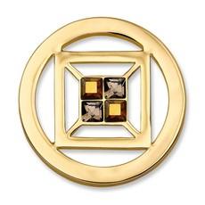 Mi Moneda Mi Moneda munt Cubo Goud Plated S
