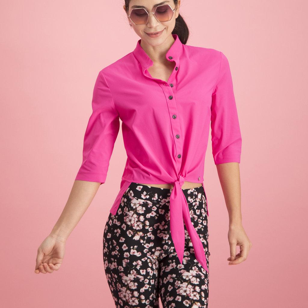 Jane Lushka Jane Lushka blouse U720SS55K Cloe Cropped Black