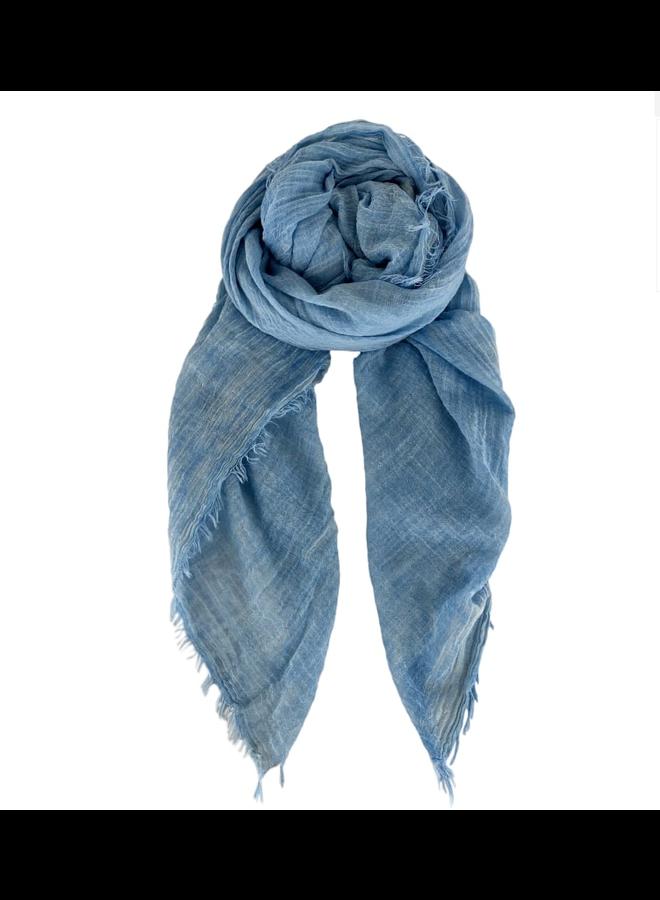 Black Colour sjaal Taya Sky Blue