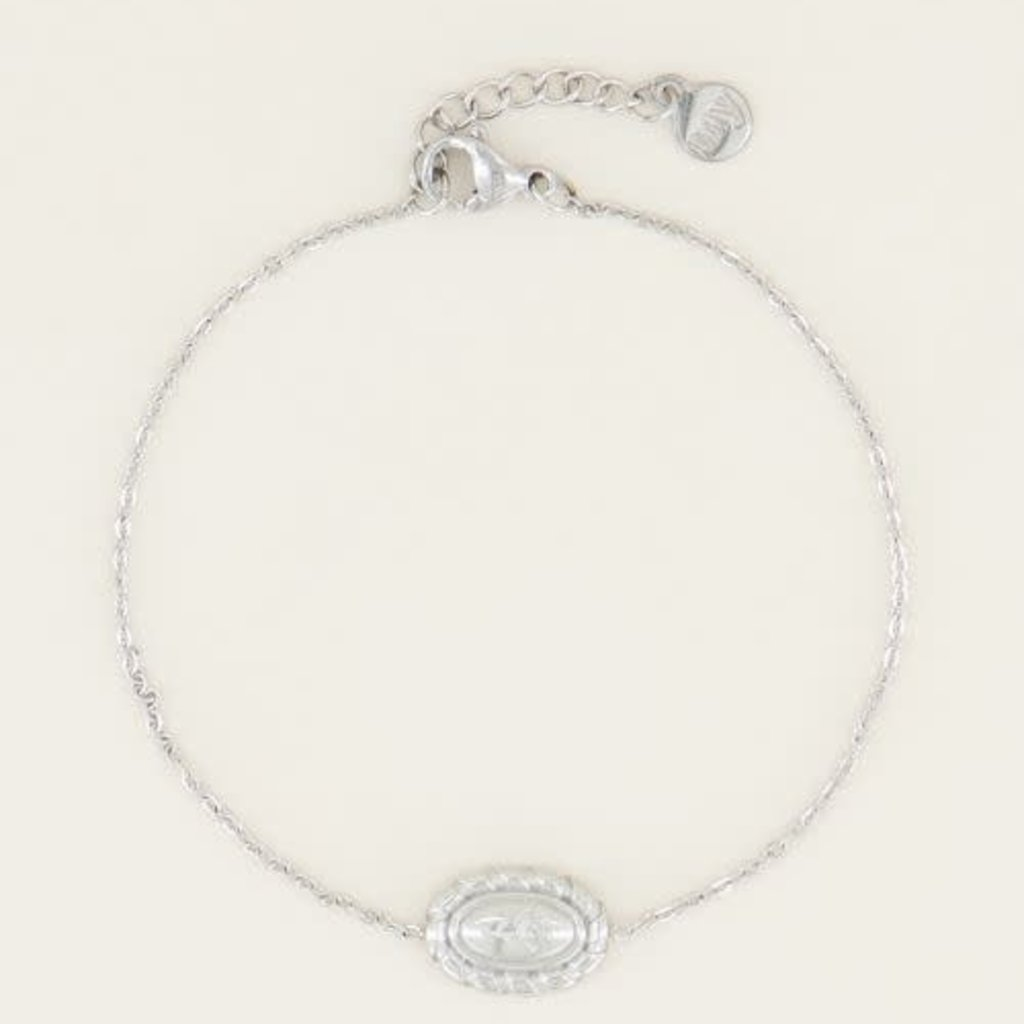 My Jewellery My Jewellery armband Moments Vintage Rose Zilver