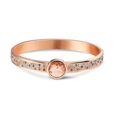 Mi Moneda Mi Moneda armband Picante Peach Rosé Gold Plated