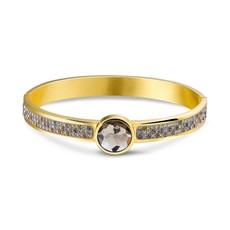 Mi Moneda Mi Moneda armband Picante Smokey Gold Plated