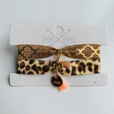 Rubia Jewelz armbandsetje Sisters Leopard 1