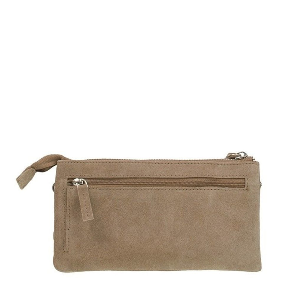 DSTRCT DSTRCT Crossbody Wallet 126540 Taupe