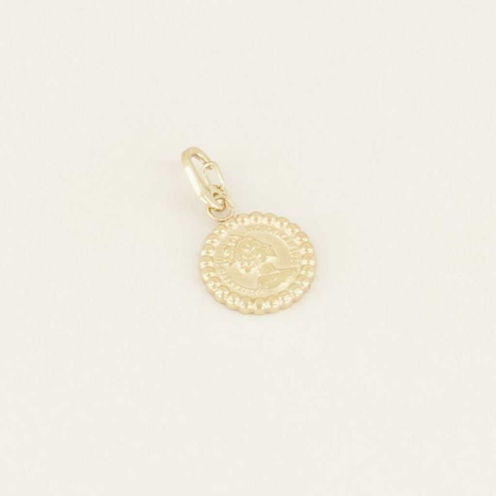 My Jewellery My Jewellery bedel Charm Coin Goud