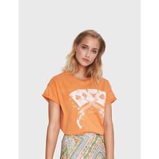 ALIX The Label ALIX T-Shirt Playing Cards Soft Orange