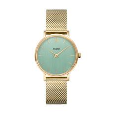 CLUSE CLUSE horloge Minuit Mesh Gold Stone Green