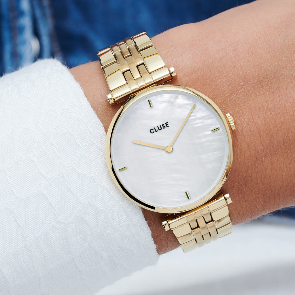 CLUSE Cluse horloge Triomphe Gold/White CW0101208014