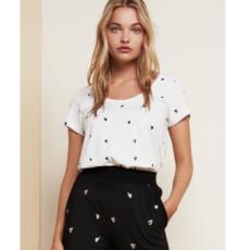 Fabienne Chapot Fabienne Chapot T-shirt Kris Embro Off-White/Black