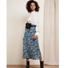 Fabienne Chapot Fabienne Chapot Rok Claire Leopard Blossom Black/Riviera Blue