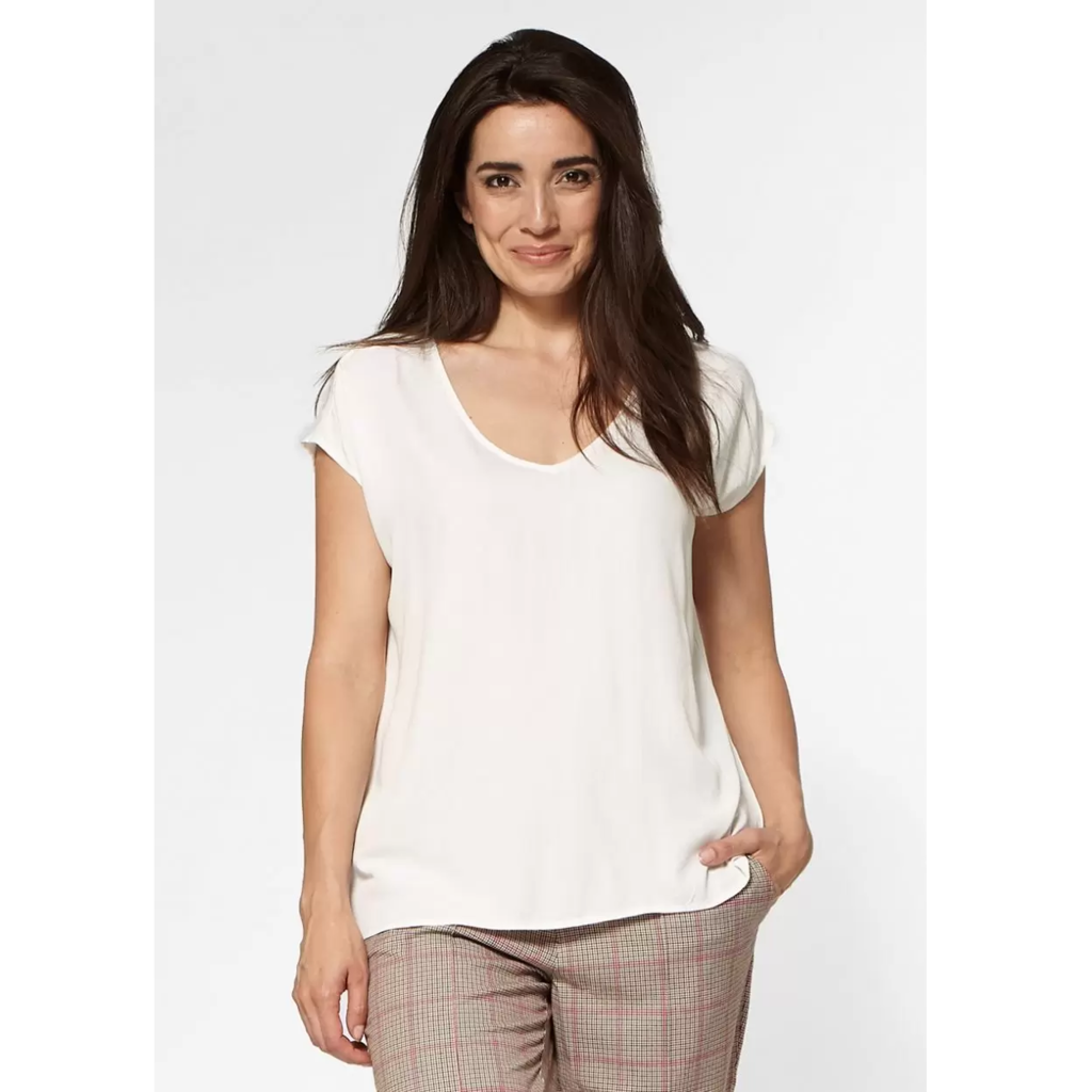 Circle of Trust Circle of Trust Top Dena Off White