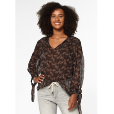 Circle of Trust Circle of Trust Blouse Noe Flower Wall