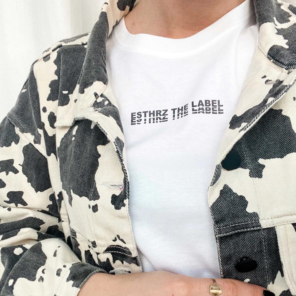 ESTHRZ ESTHRZ T-shirt Label White