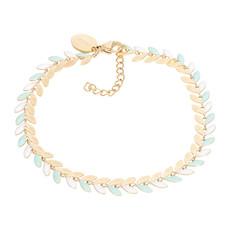 iXXXi Jewelry iXXXi armband Malediven Green/Gold Plated