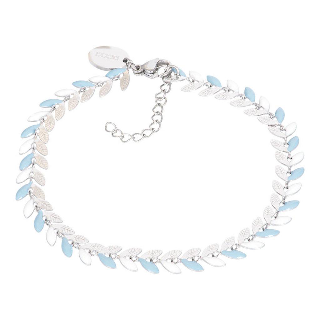 iXXXi Jewelry iXXXi armband Malediven Blue/Silver