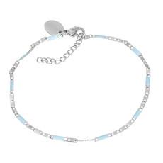 iXXXi Jewelry iXXXi armband Curacao Blue/Silver