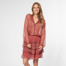 Circle of Trust Circle of Trust blouse Isabelle Red Tree