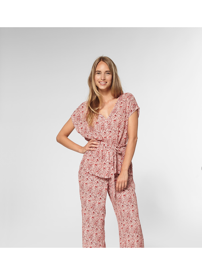 Circle of Trust blouse Silke Red Tree