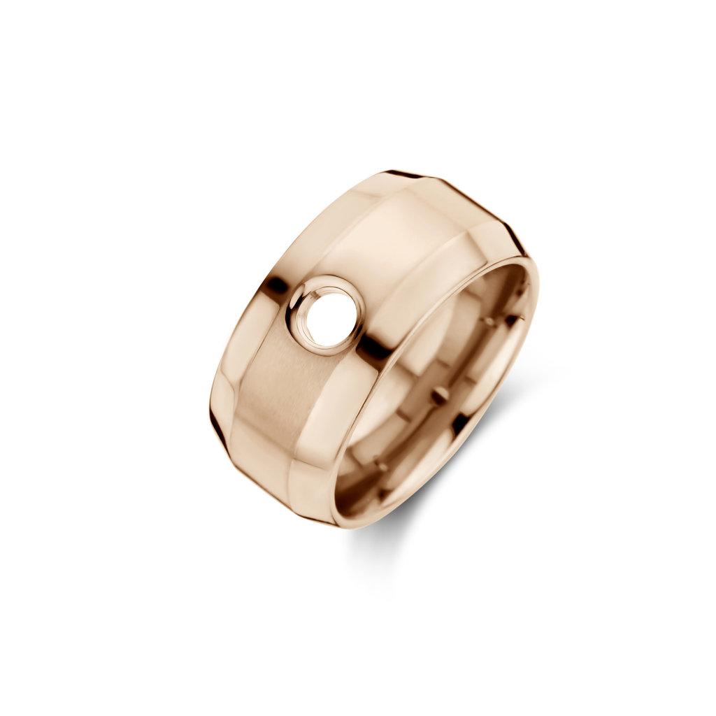 Melano Melano Vivid ring Velma Rosé Gold Plated