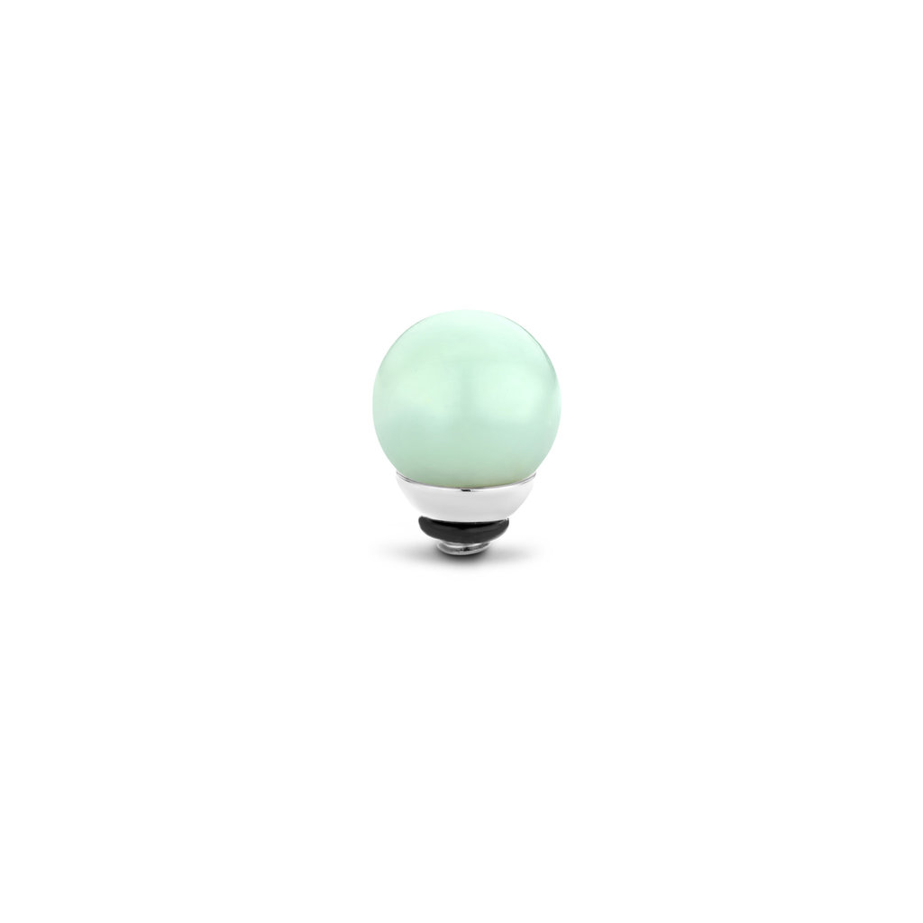 Melano Melano Twisted meddy Gemstone Ball Amazon 8 mm Stainless Steel