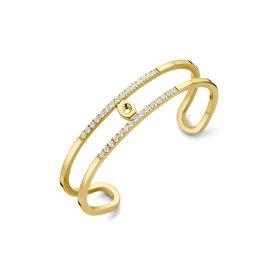Melano Melano Twisted armband Trixie Gold Plated
