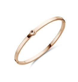 Melano Melano Twisted armband Tabora Rosé Gold Plated