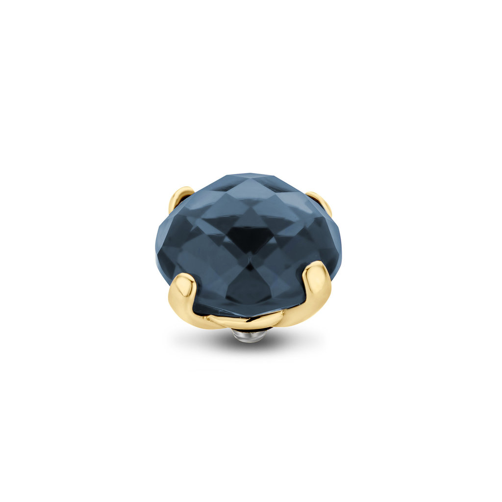 Melano Melano Twisted meddy Facet Bold 10 mm Gold Plated Montana
