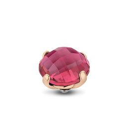 Melano Melano Twisted meddy Facet Bold 10 mm Rosé Gold Plated Rose