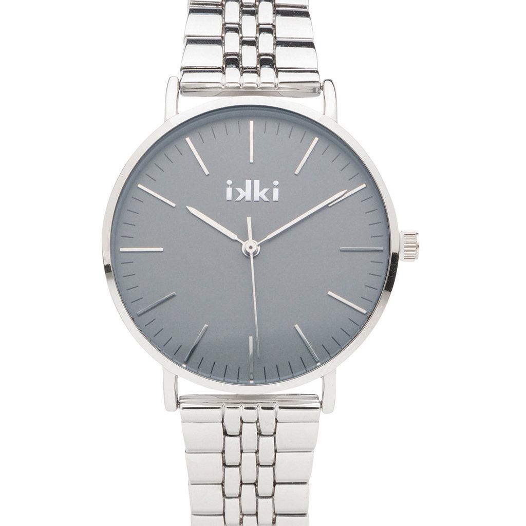 IKKI IKKI horloge Morgan MRG05 Silver/Taupe