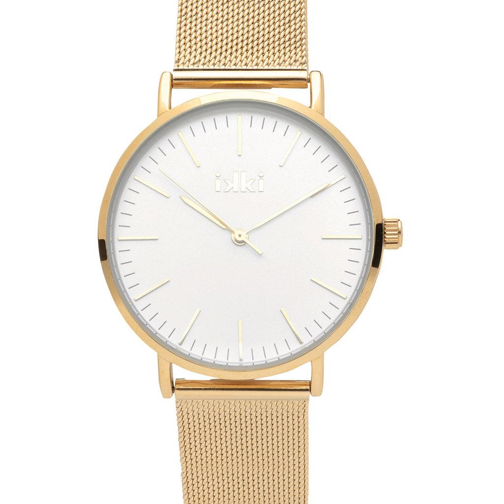 IKKI IKKI horloge MRG02 Gold/Silver