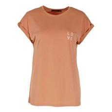 Rebelz T-shirt Love Peach