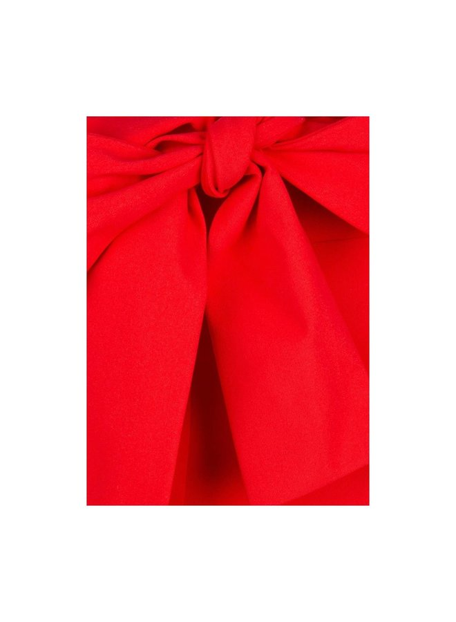 Jane Lushka Broek U220SS1255 Vera Bow Red