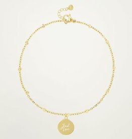 My Jewellery My Jewellery armband Just Love Goud