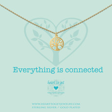 Heart to Get Heart to Get ketting Tree of Life Gold Plated