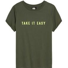 Catwalk Junkie Catwalk Junkie T-shirt Take it Easy Olive Tree