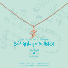 Heart to Get Heart to Get ketting Salamander Rose Gold Plated