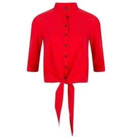 Jane Lushka Jane Lushka blouse Chloe Cropped  Red