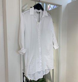 Nukus Nukus blouse Daniella Popeline White