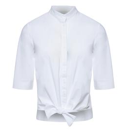 Jane Lushka Jane Lushka blouse Chloe Cropped White