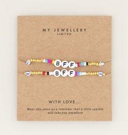 My Jewellery My Jewellery Armband BFF Multi Colour