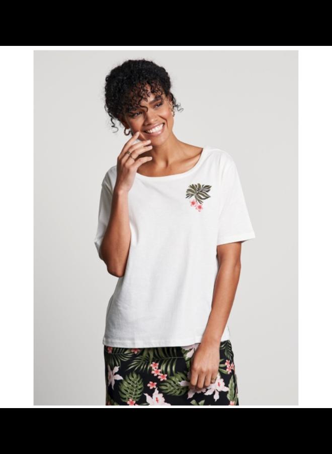 Catwalk Junkie T-shirt Tropics Off White