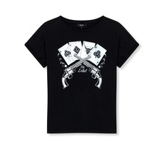 ALIX The Label ALIX T-Shirt Playing Cards Black