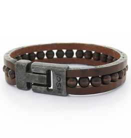 JOSH Josh armband Heren 24914/VB Brown