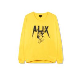 ALIX The Label ALIX Sweater Garment Dyed Intense Yellow