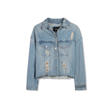 ALIX The Label ALIX Jacket Denim Blue