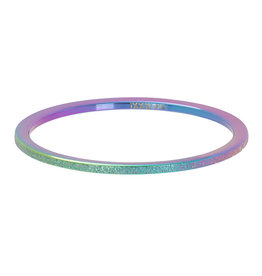 iXXXi Jewelry iXXXi vulring 1 mm Sandblasted Rainbow