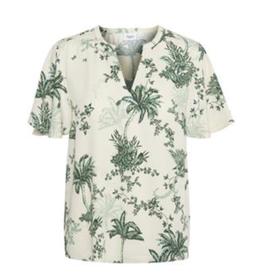 Saint Tropez Saint Tropez blouse Ada Summer Palm Creme