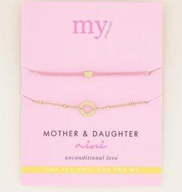 My Jewellery My Jewellery Mothter Daughter armband Gold