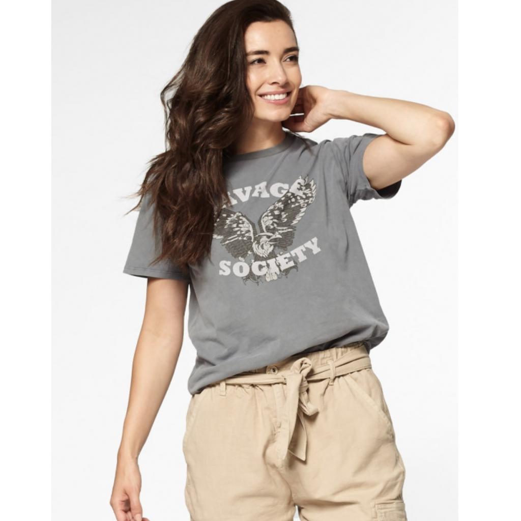Circle of Trust Circle of Trust t-shirt Suri Grey